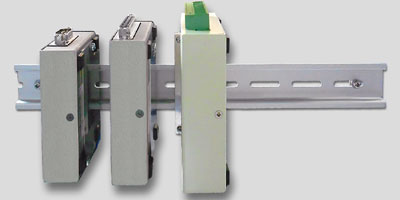 ■ 通信変換器・LAN接続型IOユニットの多様な取付方法